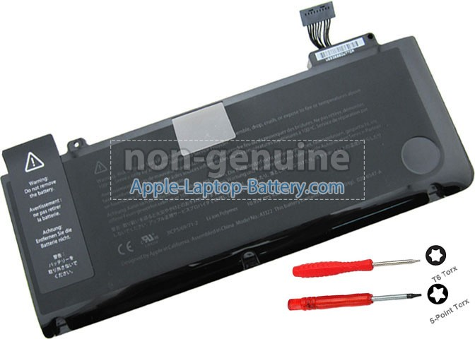 Battery for Apple A1278(EMC 2419*) laptop