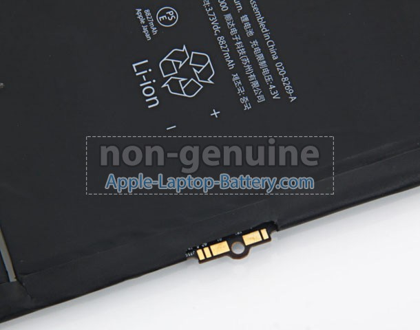 Battery for Apple MF018LL/A laptop