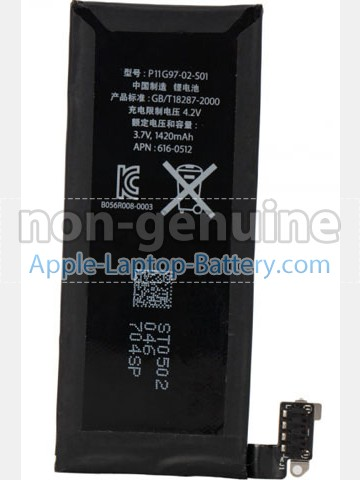 Battery for Apple 616-0513 laptop