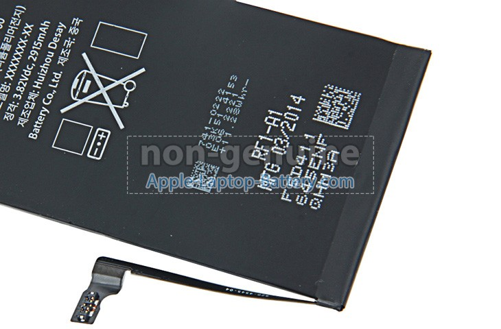 Battery for Apple MGAU2 laptop
