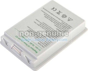 replacement Apple PowerBook G4 15 inch M9677F/A battery