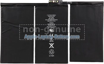 replacement Apple MC989 battery